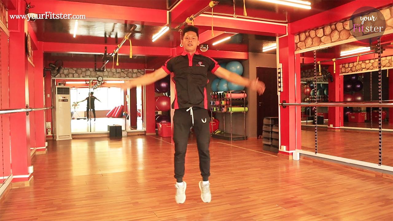Jumping Jacks လေ့ကျင့်ခန်း